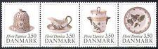 Denmark 1990 Porcelain/Ceramics/China/Art/Craft/Business/Commerce 4v set n40998