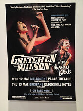 GRETCHEN WILSON 2014 Australian Tour Poster A2 Melbourne Brisbane CMC ROCKS *NEW