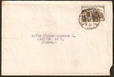 332 CHILE SANTIAGO LOCAL POST COVER 1923 CONF. PANAMERICANA