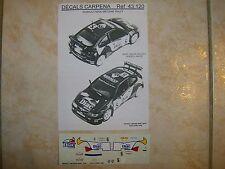 "MAXI MEGANE KIT CAR WINNER TOUR DE CORSE 1996 ""DIAC"" PHILIPPE BUGALSKI DECALS"