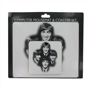 The Beatles Design Computer Mousemat And Coaster Set Present Gift Pack for Fan