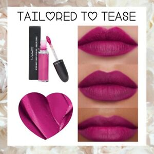 MAC RARE  Retro Matte Liquid Lipstick Lipcolour Tailored to Tease 💯AUTHENTIC