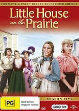 Little House On The Prairie : Season 5 (DVD, 2015, 5-Disc Set) BRAND NEW SEALED
