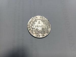 1 Franc An 12 MA Napoléon 1er