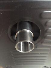 """GenExhaust Universal Generator 1"""" steel exhaust extension (Hardware only)"""