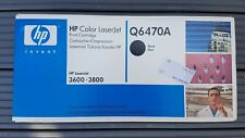 Genuine HP Q6470A Black Original LaserJet Toner Cartridge