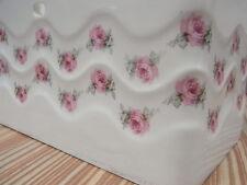 Gebäckdose Unterteil Roesler Nr. 8662 gestempelt Deckel - Dose Rose Jugendstil