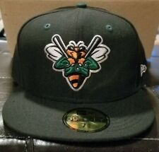 Augusta Greenjackets minor league new era fitted hat size 7 5/8