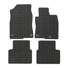 For Honda Civic MK10 2016+ Fully Tailored 4 Piece Rubber Car Mat Set