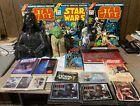 Lot+of+Vintage+Star+Wars+Memorabilia+Comics+Bank+Puppet+Novels+Uncut+Cards+Glass