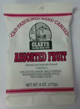 Claeys Sanded Assorted Fruit In 6 Ounce Pouches FREE SHIPPING
