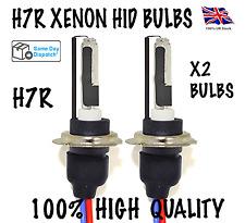 H7R XENON HID KIT BULBS 35W METAL BASE ANTI GLARE 6000K/8000K AUDI BMW MERCEDES