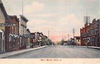Postcard Main Street in Britt, Iowa~125180