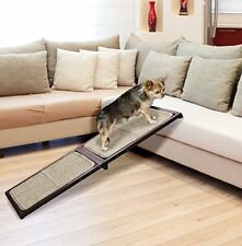 "46"" Folding Solid Wood Pet Indoor/Outdoor Carpeted Ramp"