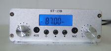 15w stereo transmitter 1.5w/15w  87-108MHZ only host  TNC