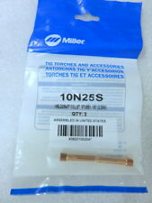 S10B American Torch Tip Miller 10N25S Stubby Collet 1/8 Inches 2pc Oem New Tools