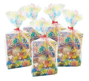 1 x BALLOON DESIGN PRE FILLED KIDS UNISEX PARTY LOOT BAGS FOR GIRLS BOYS