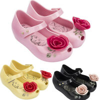 Rose kids Girls Cute Mini Melissa Shoes Sandals Toddler US Size 6-11 New Fancy