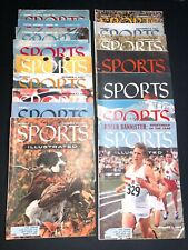 🌟1954-1955 EARLY SPORTS ILLUSTRATED #3-13, #17-21, (16) ISSUE LOT
