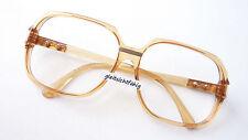 Fassung Brille XXL Form große Gläser sehr leicht Männer Gestell VIP braun size L