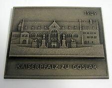 Buderus arte fundición plaquita 1989 Kaiserpfalz a Goslar