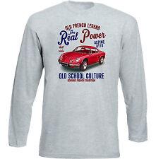 VINTAGE Francese AUTO RENAULT ALPINE A110 1-Nuova T-shirt di cotone