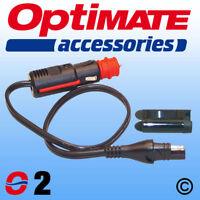 OptiMate 02 SAE Cig / DIN Plug Lead UK Supplier & Warranty 2020 NEW