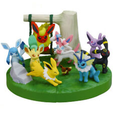 Pokemon BW 16th Movie Ver Zukan 1/40 Scale Figure - 9pc Set EEVEE SYLVEON ESPEON