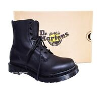 NEW Dr. Martens 1460 Women's Pascal Mono Virginia Black Leather Ankle Boots
