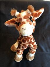 "GANZ Webkinz 12"" Giraffe HM403  Stuffed Animal Plush Retired"