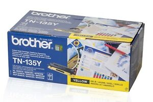 PL Neu Brother TN-135Y TN135Y Toner Yellow Gelb A