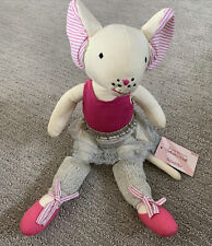 New listing Nwt The Land Of Nod Teeny Dancer Mouse Ballerina Stuffed Animal Toy