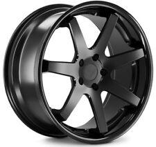 20x9/10.5 Ferrada FR1 5x114.3mm +35/38 Black Wheels Fits Nissan 300 350Z Is250