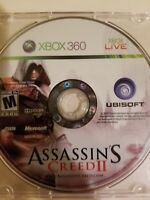 Microsoft Xbox 360   Assassins Creed II   Game Disc Only FREE SHIPPING