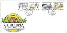 cover topical  Saint  Lucia Centenary of the Victoria Hospital FDC   medicine