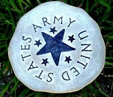MOLD army plaque concrete plaster mould military