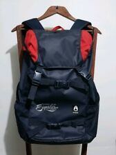 Pre owned Red Bull signature series Nixon Backpack Blue and Red Color