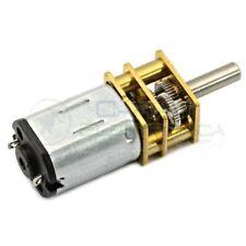 MagiDeal Motoriduttore Elettrico A Ruota 25GA370 12V In Alluminio 12V 1360RPM