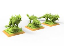 Razorus skink lizardmen 9th age AOS, Warhammer battle, king of war