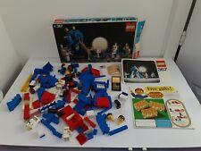 1975 Vintage Lego Legoland Space 367 Moon Landing Box & Instructions + Lego