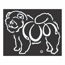 Chow Chow Dog K-Lines Dog Car Window Tattoo Decal Sticker
