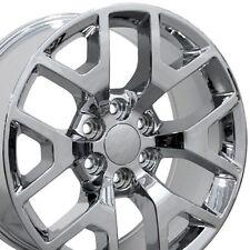 4 NEW Chrome Wheels For Chevy Avalanche Blazer 22x9 GMC Savana Sierra Yukon XL