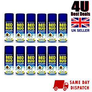 New Bed Bug Killer Fast Acting Strong Bed Bugs Trap Dust Mite Killer Spray