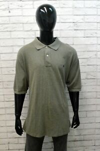 Polo Uomo Ralph Lauren Taglia 4XL Maglia Maglietta Cotone Manica Corta Shirt Man