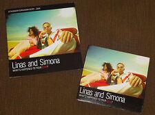 Eurovision 2004 Lithuania Linas & Simona promo press pack with CD single