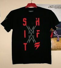 SHIFT MX STACKS T-Shirt Tee Herren 2018 Schwarz Motocross Enduro Männer Fox M