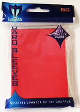 Max Pro Card Supplies YUGIOH Deck Protector Sleeves Ultra Quality Red 60 Count