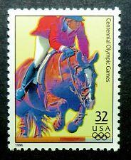 3068s MNH 1996 32c Summer Olympic Games Atlanta Equestrian jumping horses rider