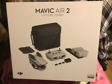 New open box dji mavic air 2 flymore combo never activated for sale
