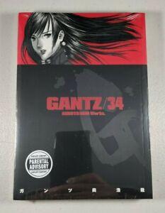Gantz Vol 34 Manga by Hiroya Oku